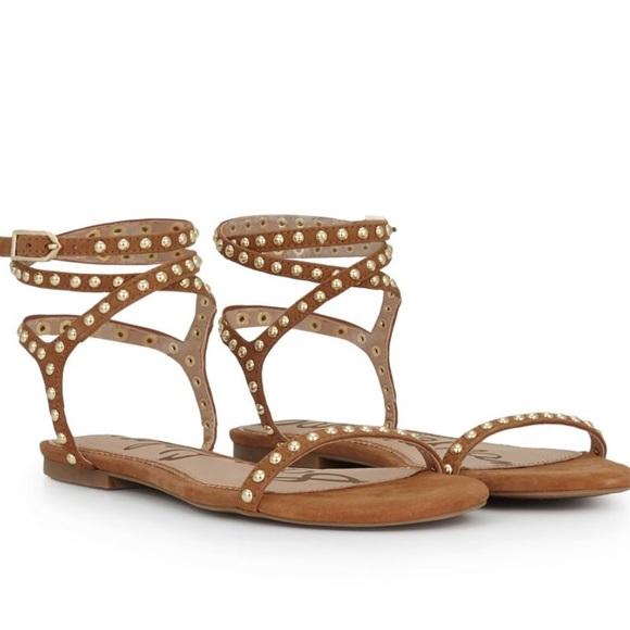 d5466ac6548cdb Sam Edelman Bridget Studded Sandals. M 5b8edf0f7ee9e2cad45bb2d2
